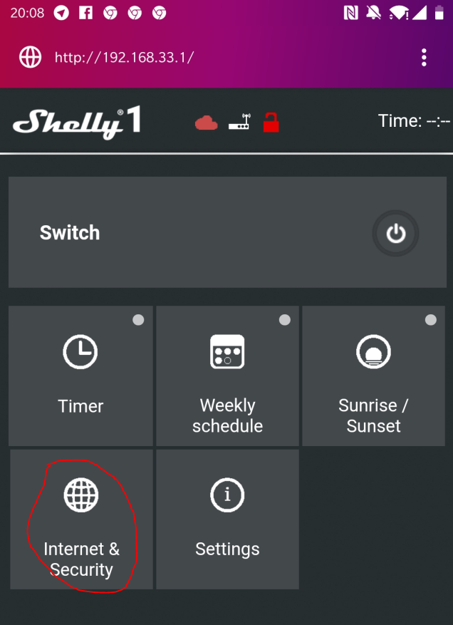 Shelly1 over MQTT in openHAB 2 4 – oliver albold
