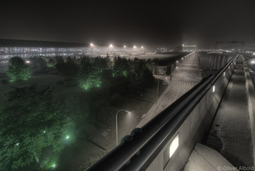 pudong airport access road (hdr)